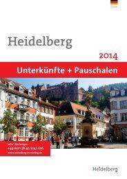 hotline +49 6221 58 40 224 /-226 - Heidelberg Marketing GmbH