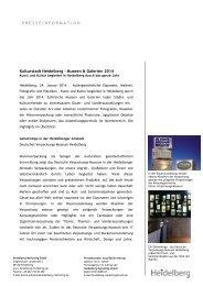 PM_Museen_Galerien 2014 im Überblick - Heidelberg Marketing ...