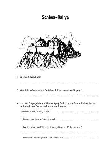 Schloss-Rallye - Stadt Heidenheim