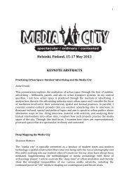 abstracts (pdf) - Helsinki.fi
