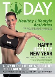 HAPPY HEALTHY NEW YEAR - Herbalife Today Magazine