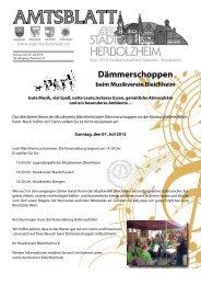 Anzeigen - Stadt Herbolzheim