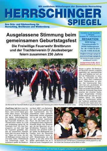 Herrschinger Spiegel - Herrsching am Ammersee