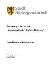 Umweltbezogene Informationen - Stadt Herzogenaurach