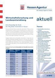 HA Wirtschaftsforschung und Landesentwicklung aktuell 02_2013