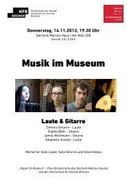 Programm.pdf - Hochschule für Künste Bremen