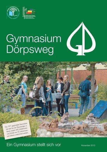Gymnasium Dörpsweg - Broschüre