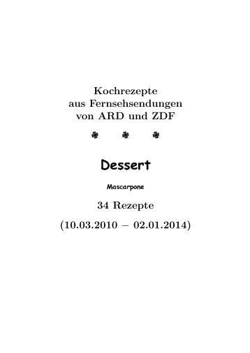 Dessert - hhollatz.de