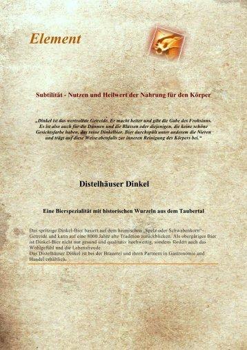 Element - Hildegard von Bingen Seminare und Veranstaltungen