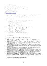 Betreute Arbeiten - Historisches Institut - Universität Bern
