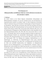 ad 6.2: B. Herzog-Punzenberger & Schnell - Bifie