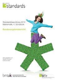 Bundesergebnisbericht M4 2013 - Bifie