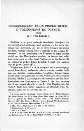 II. Vollenhove en Drenthe - Historisch Centrum Overijssel