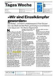 «Wir sind Einzelkämpfer - Hochschule der Künste Bern