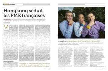 Hongkong séduit les PME françaises