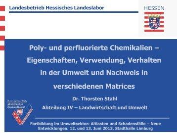 Poly- und perfluorierte Chemikalien – Eigenschaften, Verwendung ...