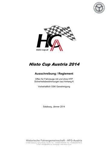 1-2014-Ausschreibung-HCA-12-01-14 - Histo-Cup Austria