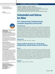 Schwindel und Stürze im Alter - HNO-Gemeinschaftspraxis Main ...