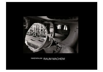 INNENRAUM: RAUM MACHEN! - Hochschule Bochum