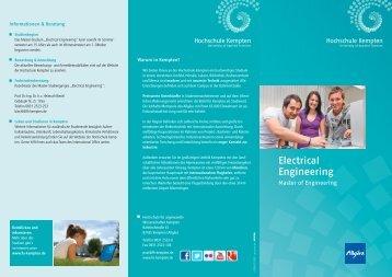 Electrical Engineering - Hochschule Kempten