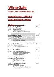 Weinkarte im .pdf Format zum Download - Hof Veldink