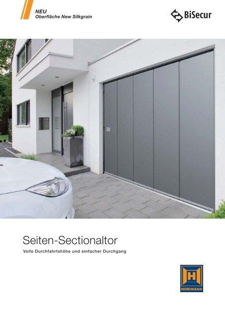 "Katalog ""Seiten-Sectionaltor"" - Hörmann KG"