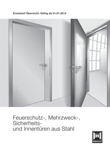 Feuerschutz-, Mehrzweck-, Sicherheits und ... - Hörmann KG