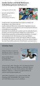 tage der offenen ateliers - Stadt Hofheim am Taunus - Page 5