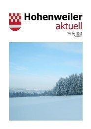 Hohenweiler aktuell