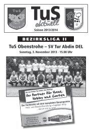 TuS Obenstrohe - homepage-baukasten-dateien.de