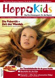 Die Pubertät – Zeit des Wandels - HoppKids