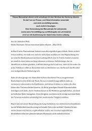 Moritz Neumann: Woran man einen Juden erkennt... (Mai 2013)
