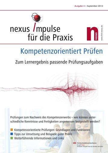 als PDF (8 Seiten, 480 KB) - HRK Nexus