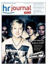 """""""Ein Rockstar macht, was er will"""" - Hessischer Rundfunk"""
