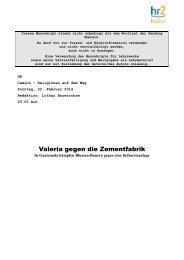 Andreas Boueke: Valeria gegen die Zementfabrik. In Guatemala ...