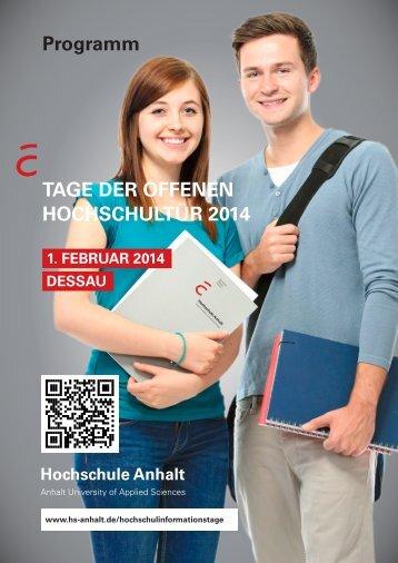 download Programm.pdf - Hochschule Anhalt