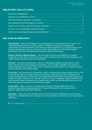 BIBLIOTHEK VON AZ (LEER) - Hochschule Emden/Leer