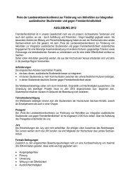 Weitere Informationen - Hochschule Magdeburg-Stendal