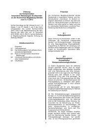 Ordnung zur Kompensation besonderer Belastungen Studierender ...