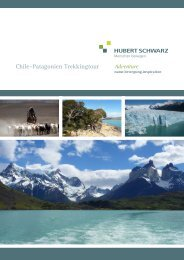 Reiseausschreibung Patagonien vom 08.01 ... - Hubert Schwarz
