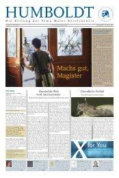 Ausgabe 4 2013/2014 - Humboldt-Universität zu Berlin