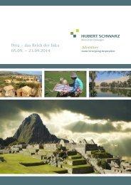 Reisebeschreibung Peru 05.09. – 23.09.2014 als ... - Hubert Schwarz