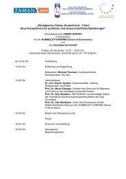 Agenda und Teilnehmerliste - HUMBOLDT-VIADRINA School of ...