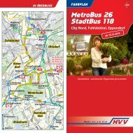 MetroBus 26 + StadtBus 118 - HVV