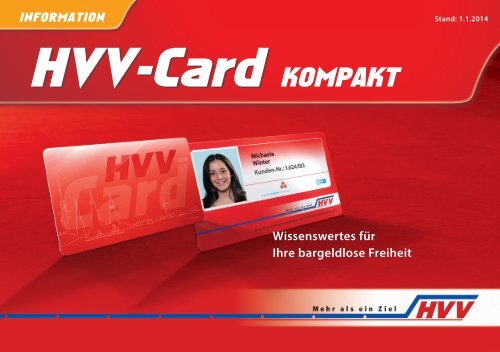 Hvv Karte Verloren.Hvv Card Hvv Card Kompakt