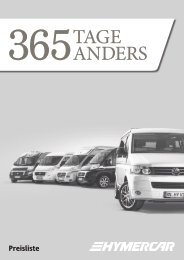365Tage anders - HYMER