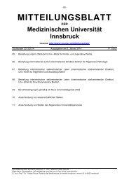 Ausgegeben am 02.01.2014 - Medizinische Universität Innsbruck