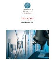MUI-START - Medizinische Universität Innsbruck