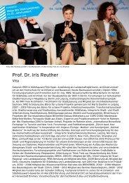 Prof. Dr. Iris Reuther - IBA Hamburg