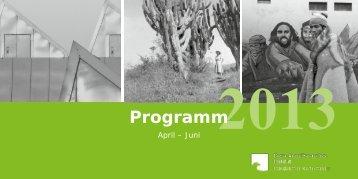 Broschüre Veranstaltungsprogramm 02/2013 - Ibero ...